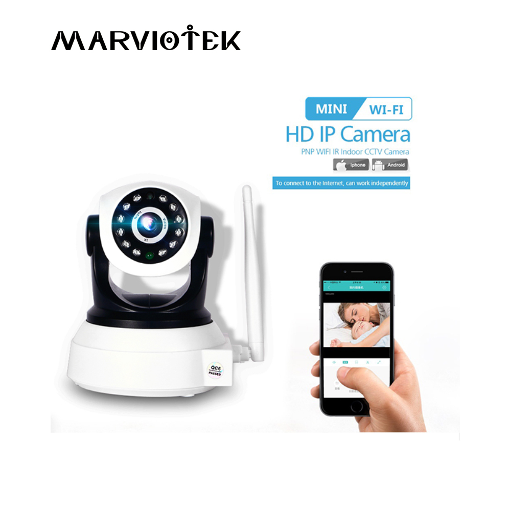 Baby Monitor WiFi 720P Mini font b Wireless b font IP Camera Wi Fi Audio CCTV