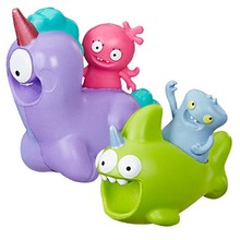 5-10cm Ugly Dolls Toys Squish & Go Peggy Mobile Action Figure Squish & Go Sharwhal Collection Model Doll Uglydolls for kids gift stranger things character 10cm action figure toys vinyl dolls for collection