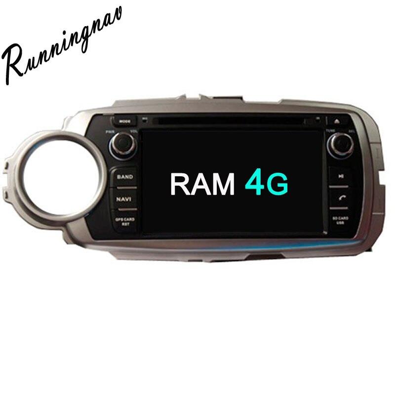 Octa base Android 8.0 PX5/PX3 Fit TOYOTA YARIS gauche ou droit conduite 2011-Lecteur DVD de Voiture Navigation GPS Radio