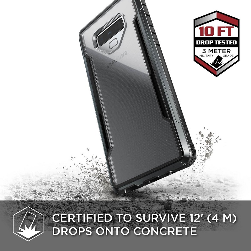 Image 3 - X Doria Defense Shield Phone Case For Samsung Galaxy Note 9  Military Grade Drop Tested Case Cover For Note 9 Aluminum Cover  CapaFitted Cases