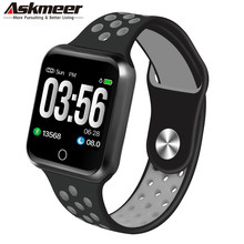 ASKMEER S226 Smart Watch Men Women Fitness Tracker Band Heart Rate Monitor Bracelet Blood Pressure Pedometer Android IOS pk B57