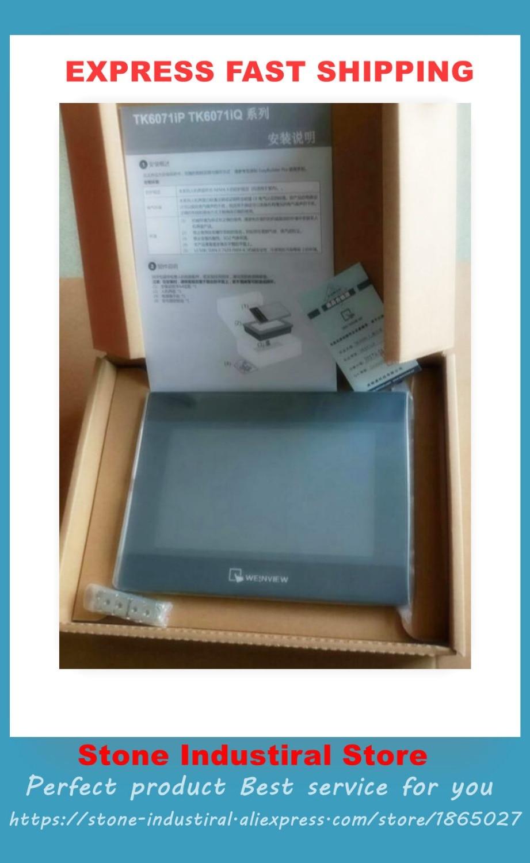 New Original TK6070iQ HMI 7 TFT 800*480 USB Host 100% Tested Good Quality new original hmi tou ch scr een mt4403t mt4230t 100% test good quality
