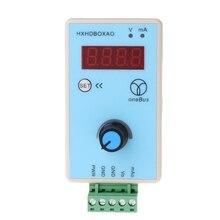 Портативный генератор сигналов напряжения тока Аналоговый симулятор выход 0-10 V 0-20mA
