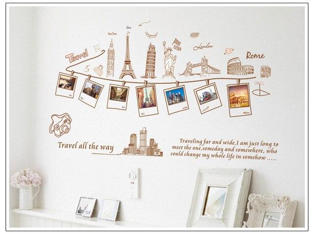 Creative DIY Travel All The Way London Roma Paris Buildings Gallery ...