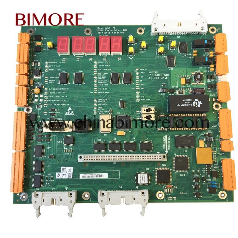 BIMORE Elevator CPU40 LCECPU40 KM773380G04 773383H06 PCB board use for Kon*BIMORE Elevator CPU40 LCECPU40 KM773380G04 773383H06 PCB board use for Kon*