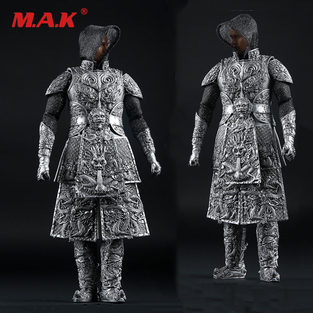 Hot Toys Ancient General Knight Armor Sliver AS008 1/6 Scale Suits Clothes F 12 Male Action Figure цена