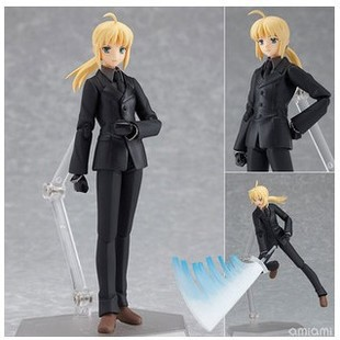 Japan Anime Figma 126 Fate Stay Night Zero Saber Black Suit Anime Figure Version 15cm Brinquedos PVC Action Figure Juguetes le fate топ