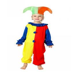 Хэллоуин Косплей Костюмы Детская цирковой клоун костюмы Непослушный Арлекин мальчиков и девочек театральные костюмы