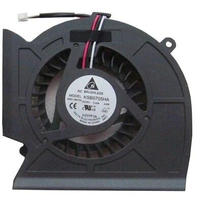 SSEA New Original laptop CPU fan for Samsung P530 R523 R525 R528 R530 R538 R540 R580 RV508 Series Cooling FAN KSB0705HA new for acer aspire 5553 5553g series cpu cooling fan