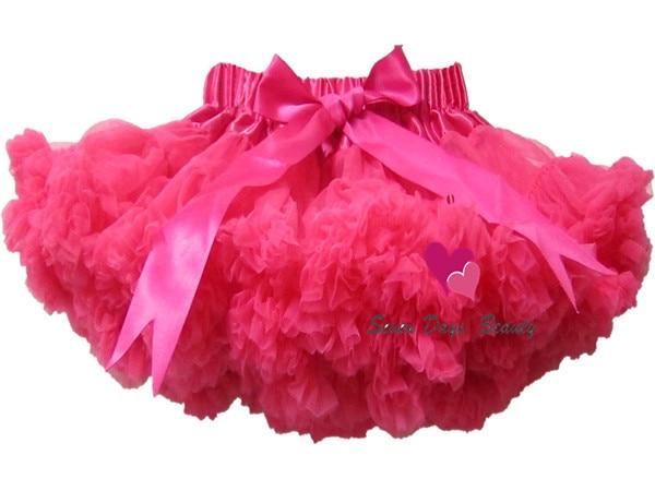 Coloré bébé enfants filles de mousseline de soie moelleux pettiskirts d'été jupes vêtements de danse Enfants costume party 12 couleur Livraison gratuite