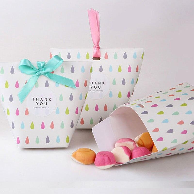 5 шт. бумаги шоколад посылка коробка конфет для детей и взрослых на день рождения и свадьбу Детские Свадебные душ подарок сумка Новогоднее у...