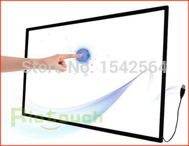 "Reliable and drift-free 65"" 6 points Infrared touch screen panel"