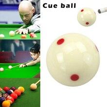 Кий мяч с 6 красными точками стандартный бассейн-бильярдный белый кий тренировочный мяч 19ing
