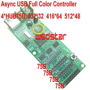 Image 1 - Contrôleur couleur Async USB pas cher 832*32 4 * conception HUB75 pour affichage LED de petite taille Mini contrôleur RGB LED 2 pièces/lot
