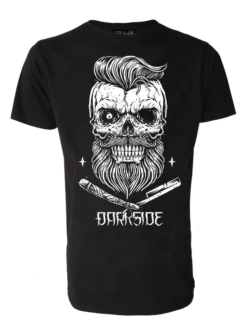 2019 New Brand Hot Uomo Darkside Vestiti Quot Bearded Skull