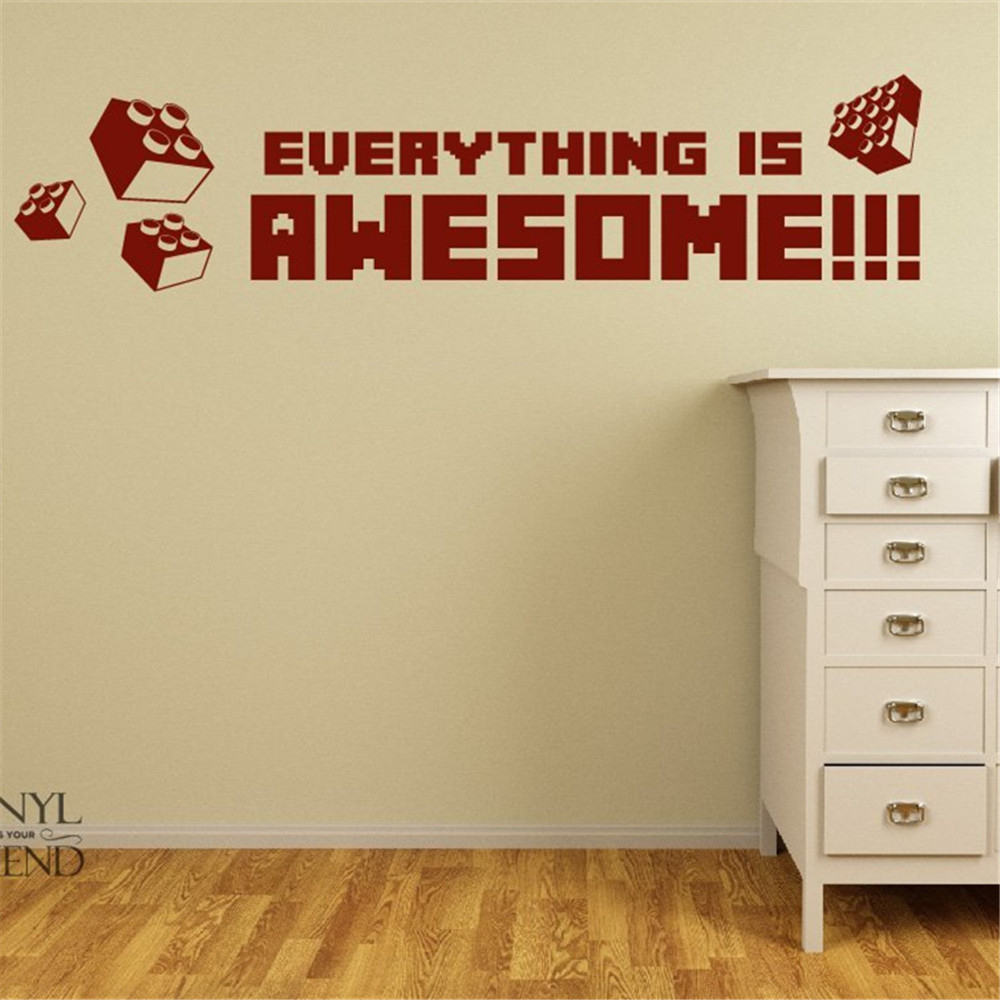 Popular Modern Wall Stickers LegoBuy Cheap Modern Wall Stickers - Lego wall decals vinyl