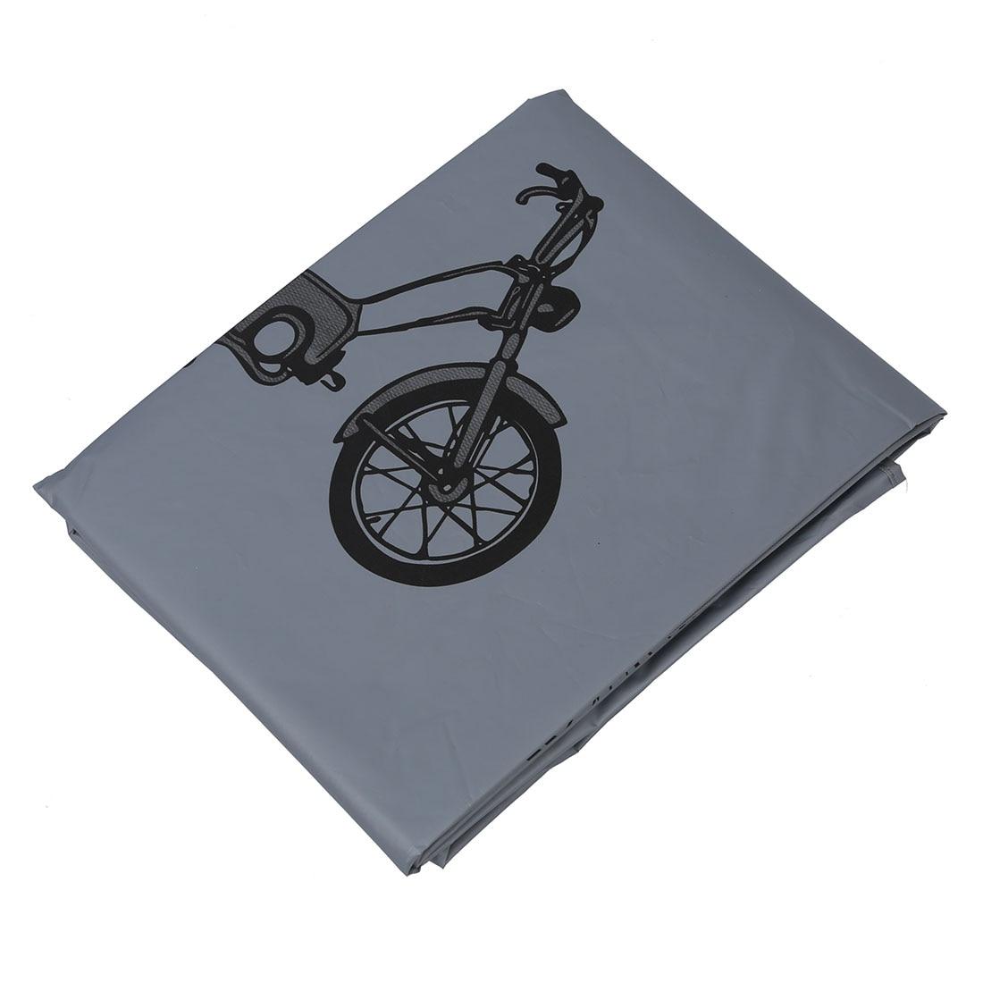 Bicycle Bike Rain Dust Snow Waterproof Cover - Grey