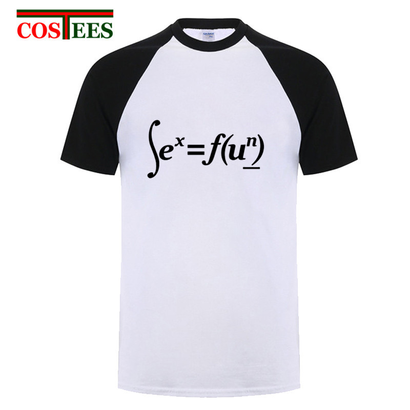 <font><b>Funny</b></font> <font><b>Sex</b></font> Equation T <font><b>shirt</b></font> <font><b>Sex</b></font>=Fun N power T <font><b>shirts</b></font> 2018 New Fashion mathematical formula Mens T-<font><b>shirt</b></font> science Sci-fi Tee hombre image
