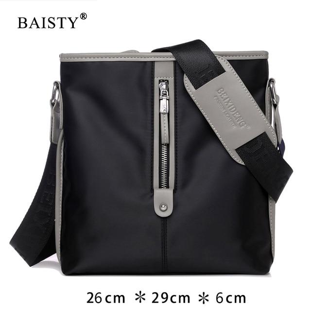Casual Men Office Bags Multifunctional Cross Body Oxford S Messenger Male Black Crossbody Fashion