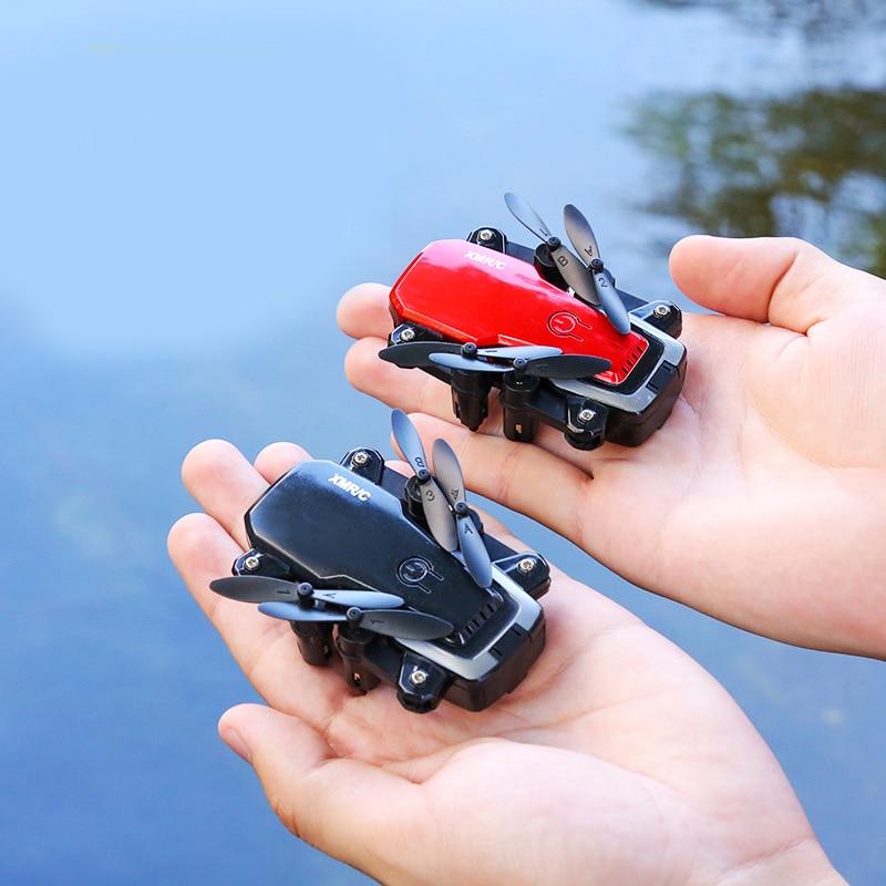 Drones com câmera hd wifi 2000 000 pixel quadcopter brinquedos rc helicóptero de controle remoto 4ch mini zangão profissional brinquedo sem escova