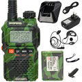 BAOFENG Green UV-3R Plus UV-3R+ VHF/UHF Dual Band 136-174/400-470 Two Way Radio  Green LB0543