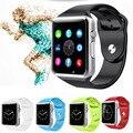 EDWO A1 W8 Bluetooth Smart Watch Часы Поддержка Sim-карты камеры Smartwatch Шагомер носимых устройств Для iOS Android PK GT08 U8
