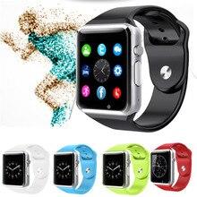 Original smartwatch a1 w8 bluetooth smart watch unterstützung sim karte kamera Pedometer Schlaf-tracker Für iOS Android PK U8 DZ09 GV18