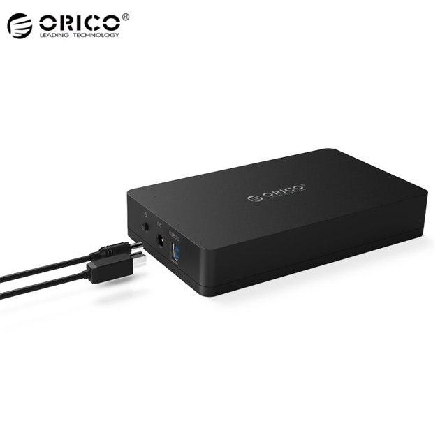 Original ORICO New Super Speed Tool Free 2.5 Inch SATA 3.0 USB 3.0 Hard Drive External Storage HDD SSD Enclosure For Mac Black