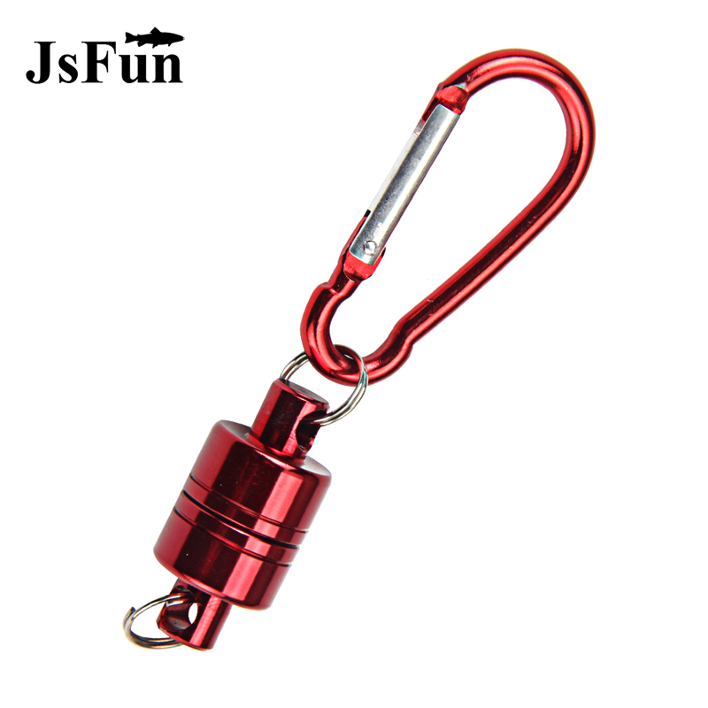 JSFUN 1pcs Fly Fishing Tackle Accessory Strong Train Release Magnetic Net Gear Release Lanyard Cable Pull 3KG PJ20