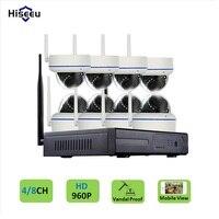 4CH 960P HD Wireless CCTV System Dome Powerful WIFI NVR IP Camera IR CUT CCTV Camera