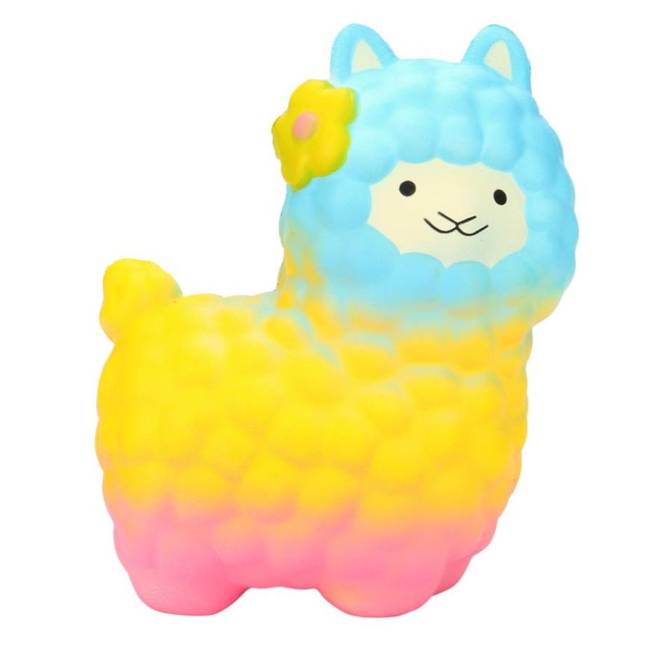 squeeze Jumbo Sheep kids toys Squishy Cute Alpaca Super Slow Rising Scented Fun Animal Toys toys MAYO10