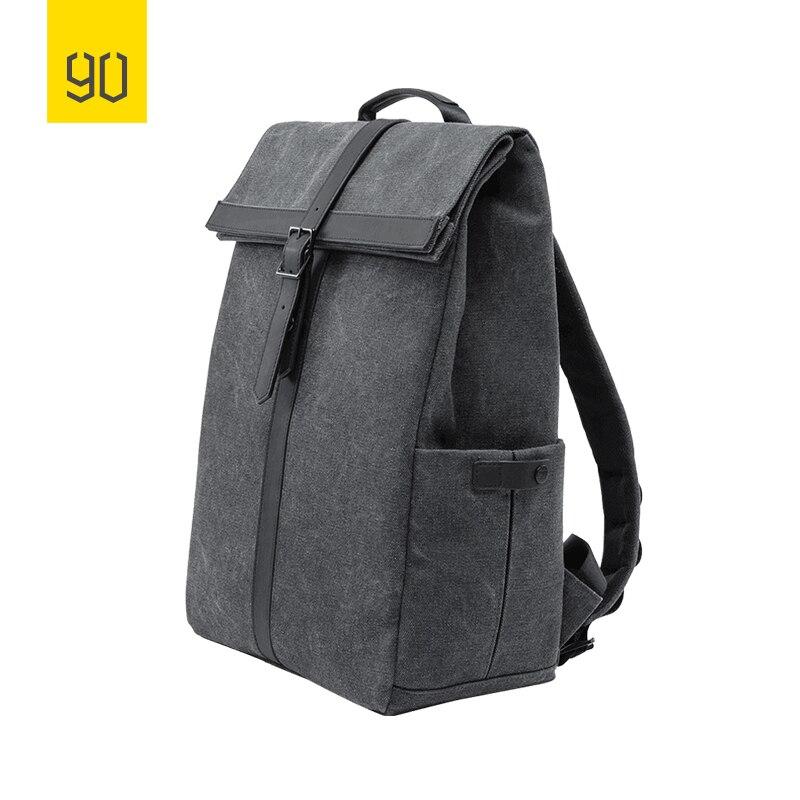 2019 nouveau Xiaomi 90FUN meuleuse Oxford sac à dos décontracté 15.6 pouces pochette d'ordinateur Style britannique sac à dos pour hommes femmes école garçons filles - 6