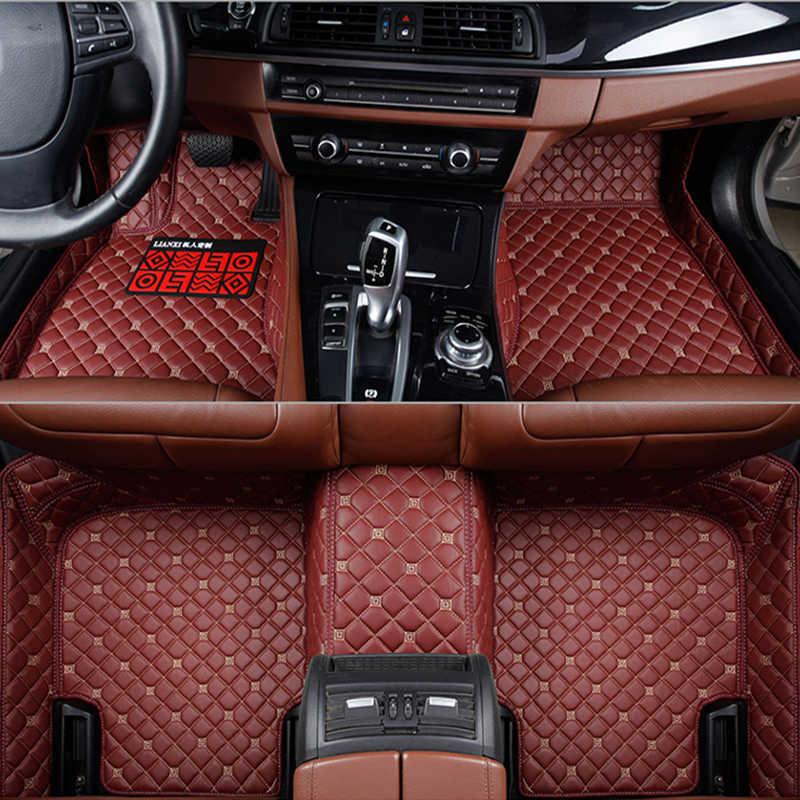 Thảm sàn xe cho Infiniti Tất Cả Các Mô Hình EX25 FX35 M25 M35 M37 M56 QX50 QX60 QX70 G25 JX35 phụ kiện xe hơi xe kiểu dáng xe chân mat