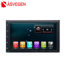 Asvegen 9 pulgadas Android 6.0 Quad Core Wifi Radio Del Coche Bluetooth Reproductor Multimedia de Navegación GPS Para Toyota Fortuner 2005-2011
