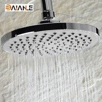 Круглая голова душ ABS пластик воды RAINS душем с раздвижного кронштейна и набор для ванной настенных душем