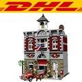 2017 Nueva LEPIN 15004 2313 Unids City Creator Bomberos Modelo Kit de Construcción Figura Bloques de Ladrillo Compatible Juguete Regalo de Los Niños 10197