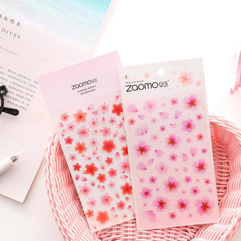 Cherry Сакура круглый шар сова декоративные канцелярские наклейки Скрапбукинг DIY Дневник Stick Lable