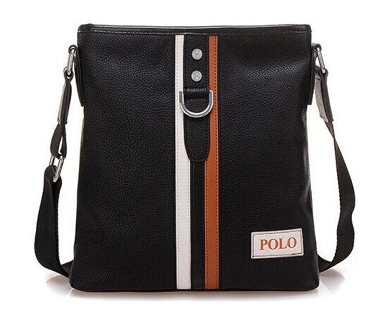 Hot sale New 2016 fashion PU leather men shoulder bag men messenger bag business leisure bag