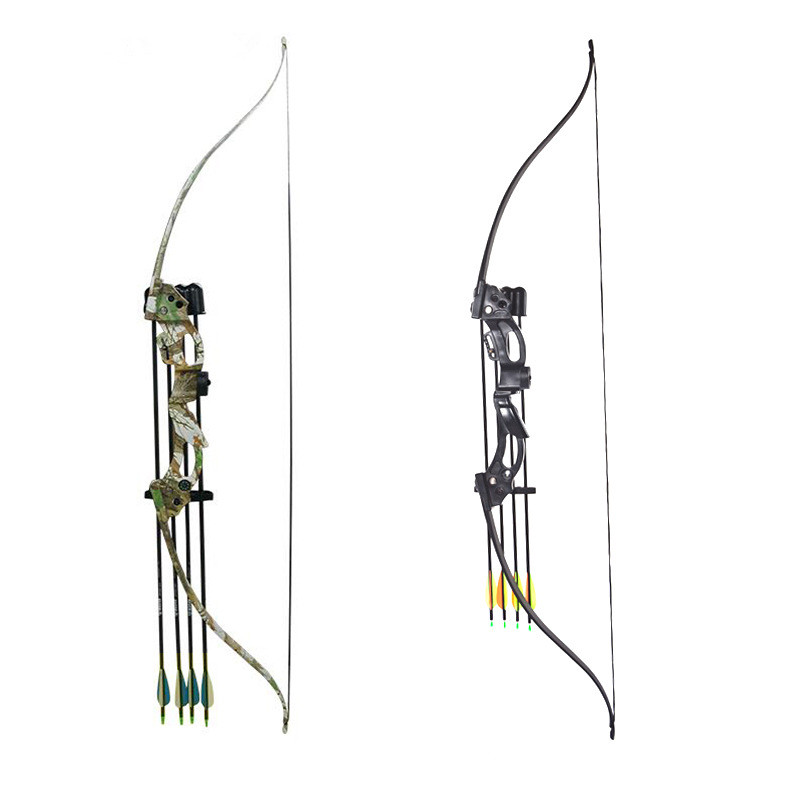 Two Color Can Choose Recurve Bow with 20lbs For Women and Children Archery Practice Shooting
