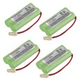 4 Cordless Home Phone Battery Rechargeable NiMH battery Pack for AT&T BT166342 BT266342 TL32100