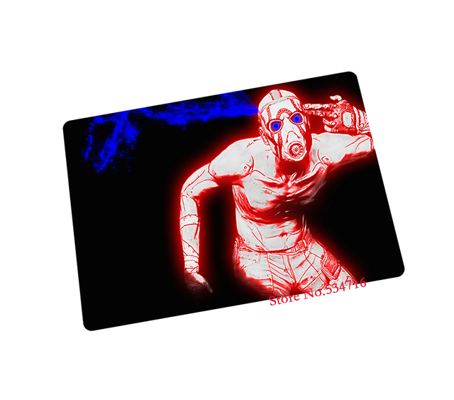 borderlands mouse pad gear HD pattern game pad to mouse notebook computer  mouse mat brand gaming mousepad gamer laptop-in Mouse Pads from Computer &