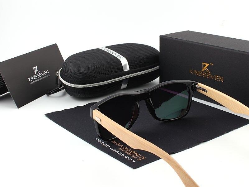 2016 New Bamboo Polarized Sunglasses Men Wooden Sun glasses Women Brand Designer Original Wood Glasses Oculos de sol masculino 16