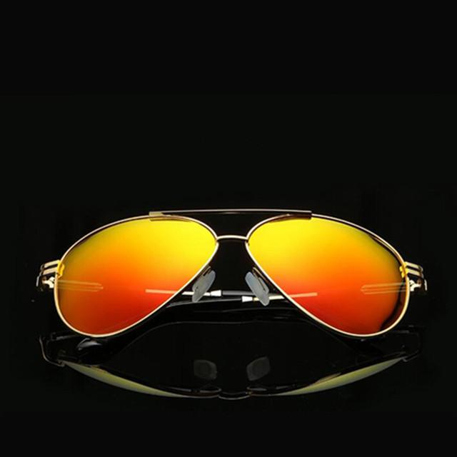 Aviação polarizada Homens Óculos de Sol Marca Designer Driving Óculos Óculos de Sol Óculos de esportes Ao Ar Livre mulheres Clássicos oculos de sol feminino