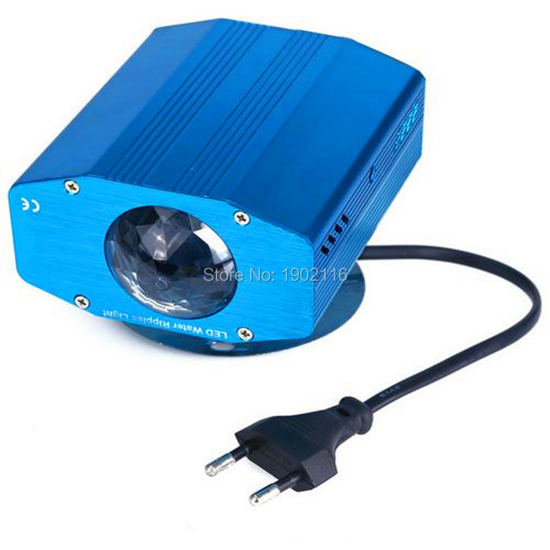 Niugul IR Remote 7 Color Changing Mini LED Water Wave Ripple Effect Stage Light/ Disco dj lighting/Party lights/LED lamp