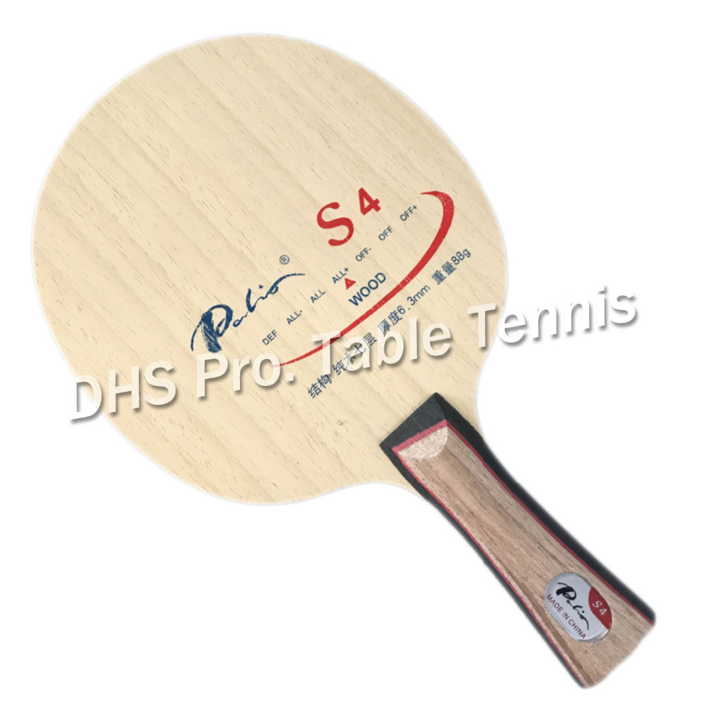 Palio S4 (S 4, S-4) Table Tennis / Pingpong Blade
