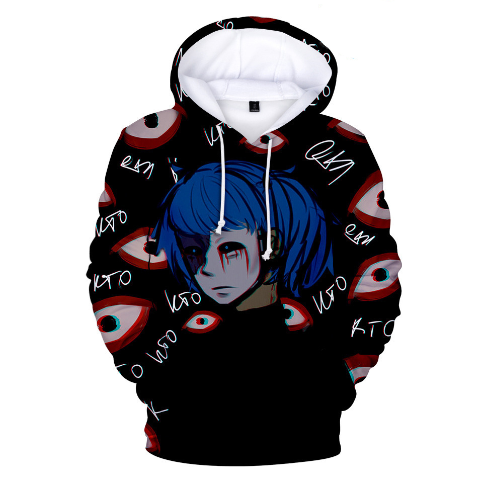 Women Men Sally Face Hoodie Cosplay Sally Face Hoodies 3D Cool Tops  Hooded Sweatshirt Pullover Coats For Boys Girls