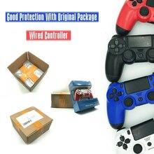 Для PS4 контроллер проводной геймпад для Playstation 4 для Dualshock 4 джойстик геймпады для PS4 консоли USB геймпадов контроллер