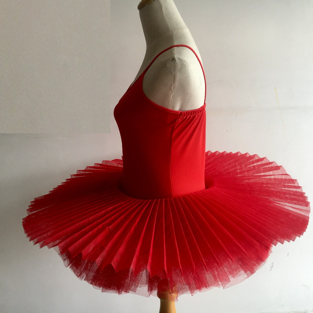 Image 4 - Black/Red/White Ballerina Dance Dress Professional Adult Ballet Costume Women Ballet Dance Clothes Child Girls Ballet Dance Tutu-in Ballet from Novelty & Special Use