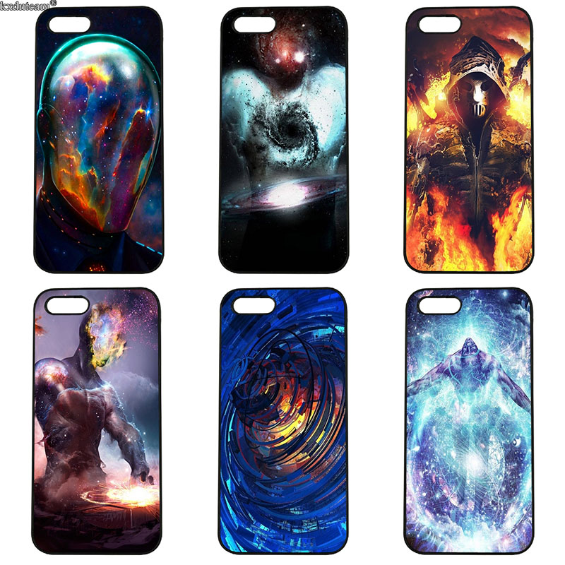 Artistic Painting DIY Painted Mobile Phone Cases Hard PC Cover for iphone 8 7 6 6S Plus X 5S 5C 5 SE 4 4S iPod Touch 4 5 6 Shell