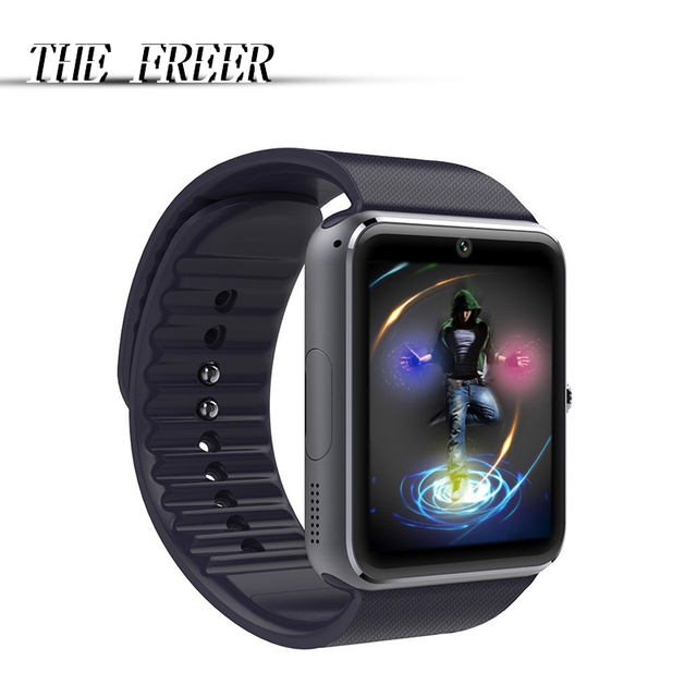 bfdc414357 SmartWatch GT08 Bluetooth Smart Watch with Camera SIM card For IOS Android  wear touch clocks waterproof cell phone Watches